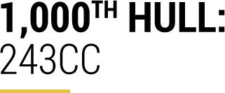 1000th Hull: 243CC